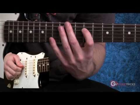 Sweep Picking Lesson - Steve Vai Solo -  Electric Guitar Lesson - Guitar Tricks 80