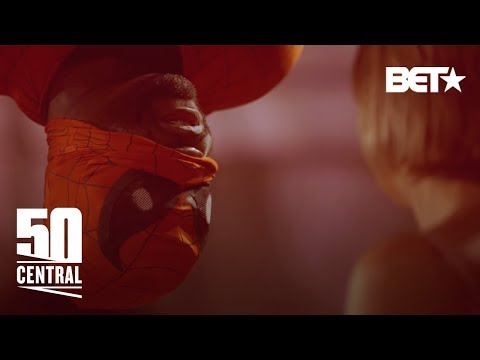50 Cent As Black Spider-Man – 50 Central (50 Cent)