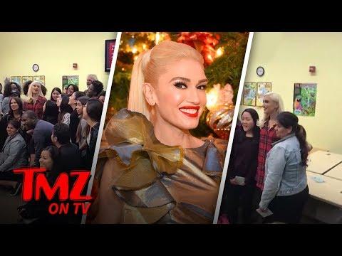 Gwen Stefani Is In The Giving Mood | TMZ TV