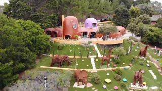 'Flintstone House' Owner Sued Over Dinosaur Statues