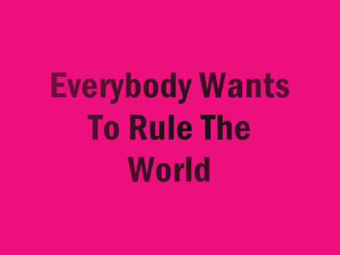 Tears For Fears Everybody Wants To Rule The World w/ Lyrics