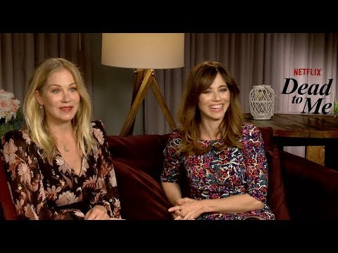 DEAD TO ME Netflix interviews - Christina Applegate and Linda Cardellini