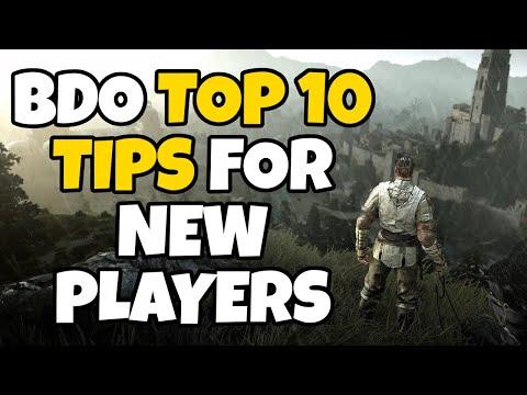 Top 10 Tips for New Players in Black Desert Online