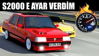 TURBO TOFAŞ İLE S2000 E KAFA TUTTUM !! | ASSETTO CORSA