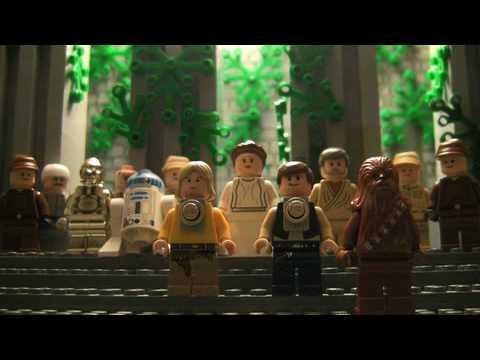 Lego Star Wars: Hilarious Stop Motion Recap Of Entire Trilogy