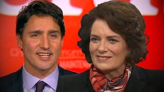 Margaret Trudeau Supports Son's Plan to Legalise Cannabis