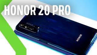 HONOR 20 Pro, primeras impresiones: en sus CUATRO CÁMARAS un objetivo MACRO que promete