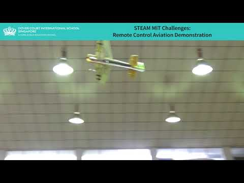STEAM Challenge - Remote Control Aviation Demonstration