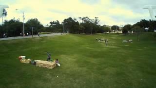 DRONE HUBSAN X4 H502S primeiro voo parte 2 visão do drone