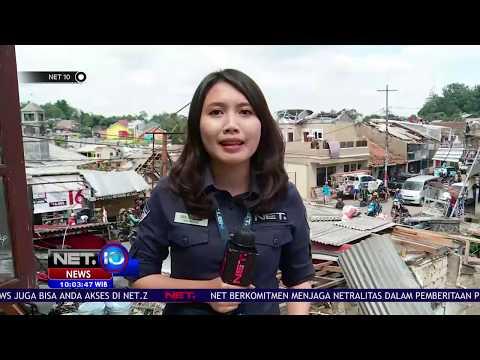 Live Report, Situasi Kota Bogor Pasca Terjangan Angin Puting Beliung - NET 10