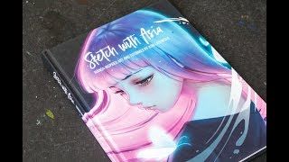 (book Flip) Sketch With Asia: Manga-inspired Art And Tutorials By Asia Ladowska