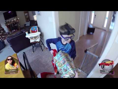 Nerf War:  The Santa Claus Secret