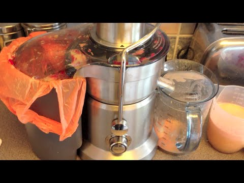 Review: Sage Nutri Juicer Pro - Unboxing, Assembling, Juicing, Pureeing, Cleaning.