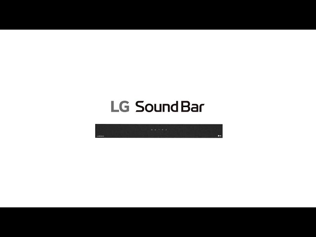 LG SoundBar – Pensando en grande para ayudar al planeta