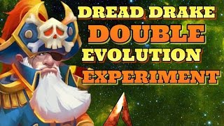 Castle Clash Double Evolution Dread Drake + Experiment!