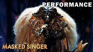 "Lion sings ""California Dreamin'"" by Sia | THE MASKED SINGER | SEASON 1"