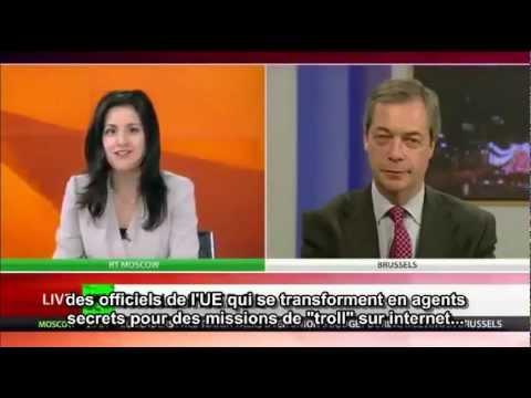 """Nigel Farage: """"L'UE est gérée comme une république bananière"""""""