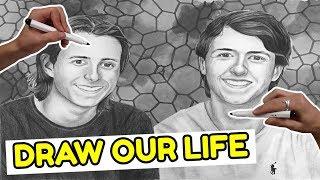 Draw My Life   150.000 SUBS SPECIAL   Kender Du Det