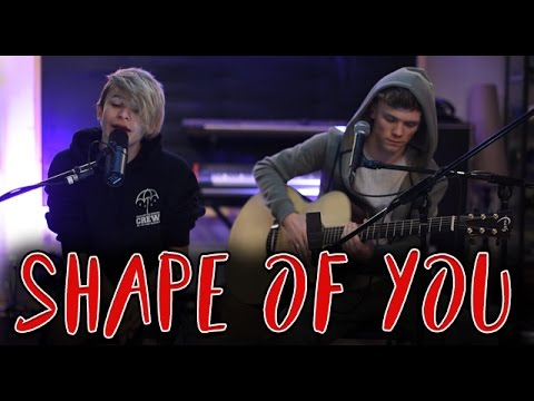 Hey everyone! This week we went in the studio to do an acoustic cover of Ed Sheeran - Shape Of You as its such an awesome track.. Let us know if you like it in the comments!