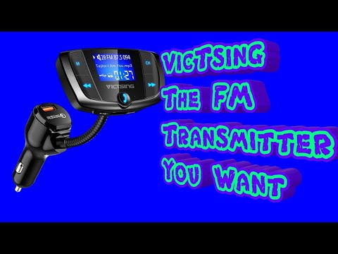 VicTsing Bluetooth FM Transmitter: Unboxing & First Impressions