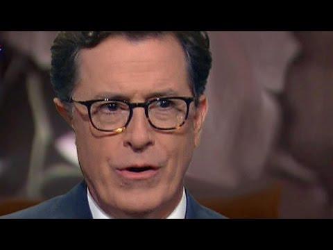 Stephen Colbert parodies Ryan Lochte interview