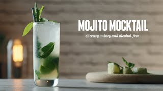 How to make a Mojito Mocktail   Non-Alcoholic Cocktail Recipes
