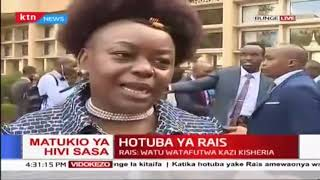 Millie Odhiambo reaction after Uhuru's state of the Nation address