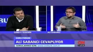 Cüneyt Özdemir Ile Soruyorum'un Konuğu Ali Sabancı!