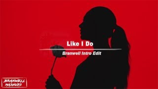 David Guetta, Martin Garrix & Brooks - Like I Do [Branwell Intro Edit]