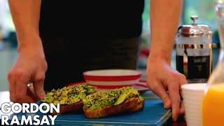 Gordon Ramsay's Avocado on Toast with a Twist