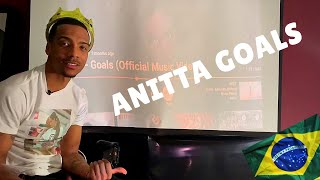 Anitta Goals (offical music video) Reaction