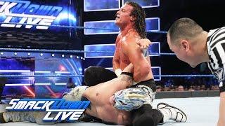 Kalisto Vs Dolph Ziggler SmackDown LIVE Jan 10 2017