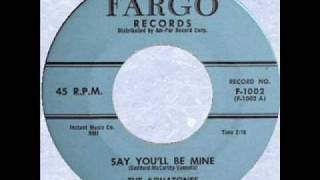 AQUATONES Say You'll Be Mine AUG '58