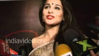 Vidya Balan about lyricist Gulzar