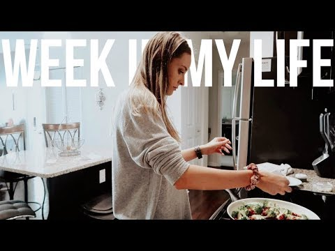 Week In My Life (workouts, healthy meals, staying positive)