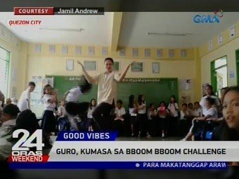 [GMA]  Guro, kumasa sa BBoom BBoom challenge