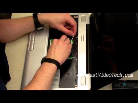 Toshiba Satellite Keyboard and Wireless LAN Card (WLAN) Replacement