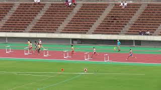 2018年度兵庫県高校総体男子400mH決勝