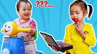 Trò Chơi Chăm Sóc Em Bé Khi Mẹ Vắng Nhà - Bé Nhím TV - Đồ Chơi Trẻ Em Thiếu Nhi
