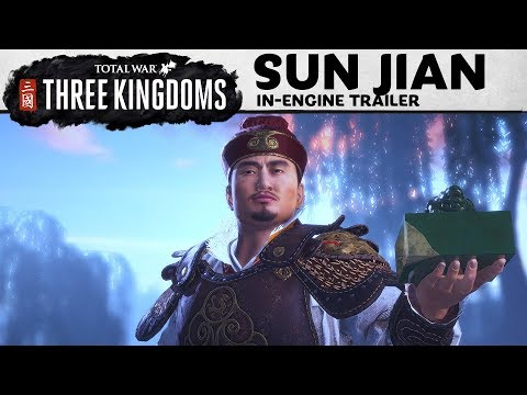 Total War: THREE KINGDOMS – Sun Jian In-Engine Trailer thumbnail