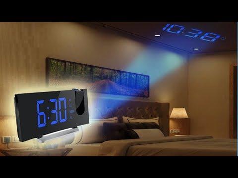 3 Amazing Amazon Gadgets, Projection Clock, FM Radio, Alarm Clock, Digital Alarm Clock, USB charger