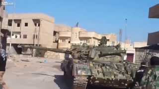 Syria | FSA T55 Tank Blown Up At Close Range