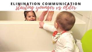 STARTING ELIMINATION COMMUNICATION (Earlier Vs later) (EC)
