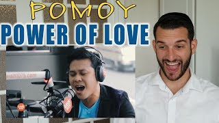 """VOCAL COACH Reacts To MARCELITO POMOY Singing """"POWER OF LOVE"""""""