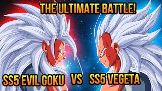 Dragon Ball Z AF Super Saiyan 5 Evil Goku VS