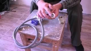 Установка и подключение стиральной машины. Видео инструкция.