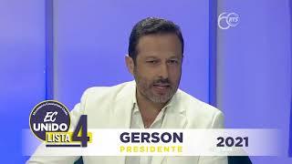 Entrevista Dr. Gerson Almeida en RTS.