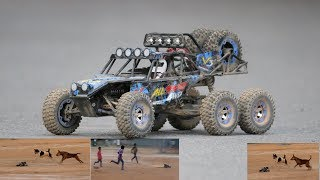 Unboxing RC car - 6x6 wheel driving car Wltoys 12628 1/12 2.4G 6WD Rc Car 550 Brushed 40km/h