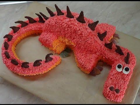 Как приготовить торт дракон