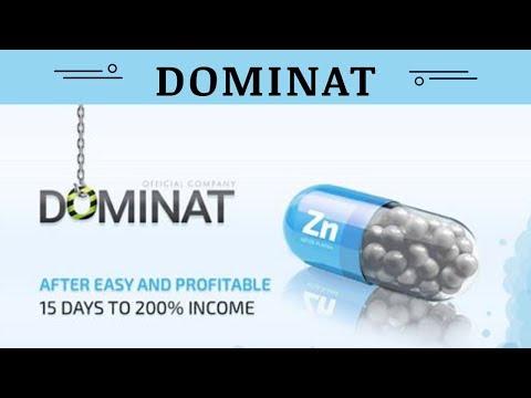 Dominat.company отзывы 2019, обзор, mmgp, Zink plans, прибыль до 200% через 15 дней